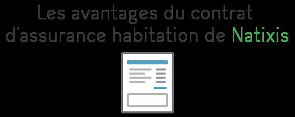 contrat assurance habitation natixis
