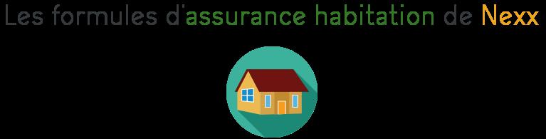 formules assurance habitation nexx