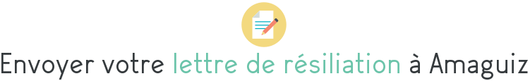 lettre resiliation amaguiz
