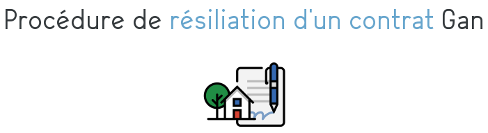 procedure resiliation contrat gan