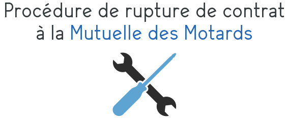 procedure rupture contrat mutuelle des motards