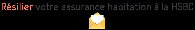 resiliation assurance habitation hsbc