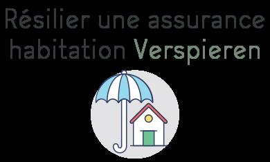 resilier assurance habitation verspieren