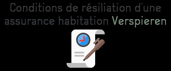 verpsieren resiliation assurance habitation